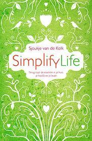 Een van de boeken over eenvoudig leven die ik aanbeveel